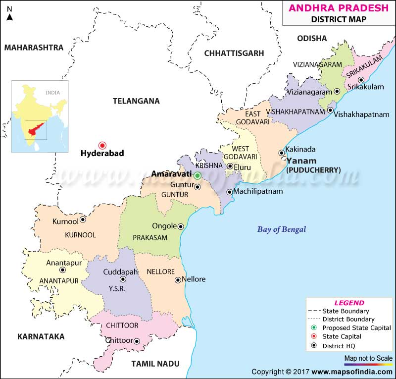 andhrapradesh district map